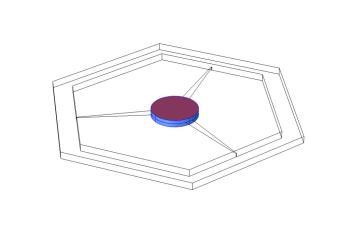 3D model of the circulator
