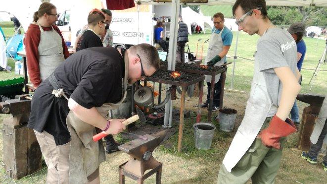 Blacksmith workshop